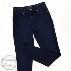 DL1961 Nina High Rise Dark Wash Skinny Jeans